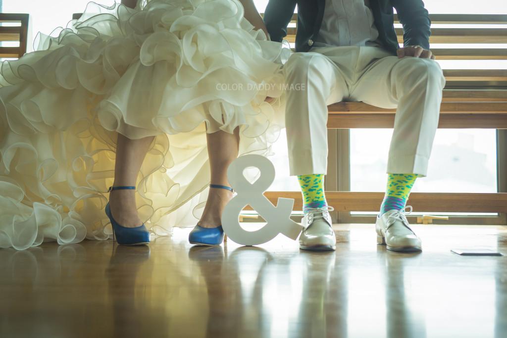 襪子婚紗 (2)