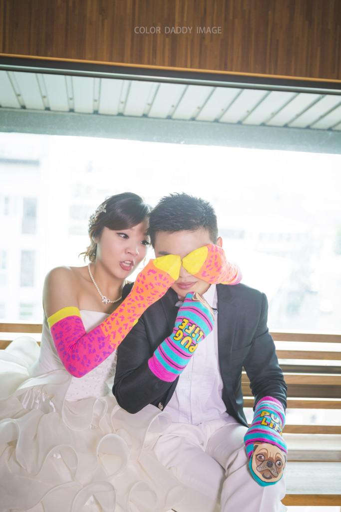 襪子婚紗 (5)