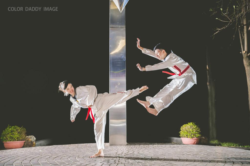 跆拳道婚紗 (1)