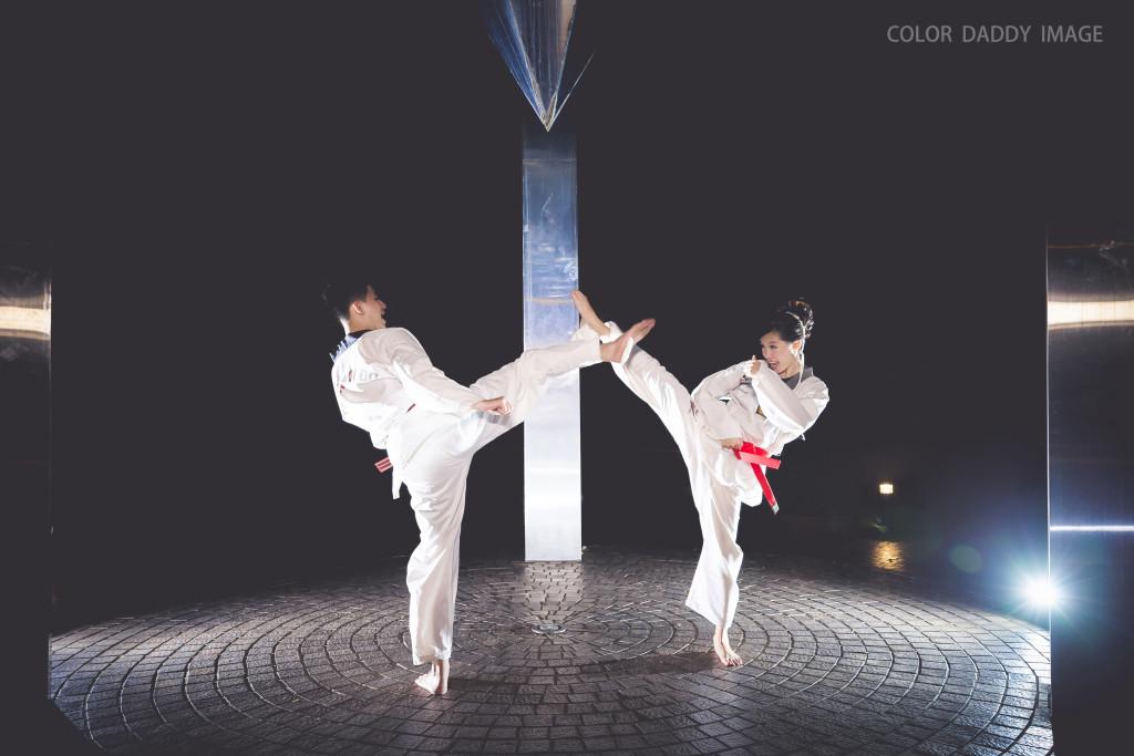 跆拳道婚紗 (2)