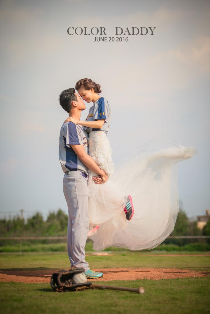 自主婚紗-棒球 (2)