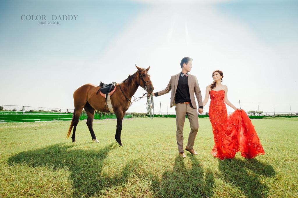 自主婚紗-馬車 (2)
