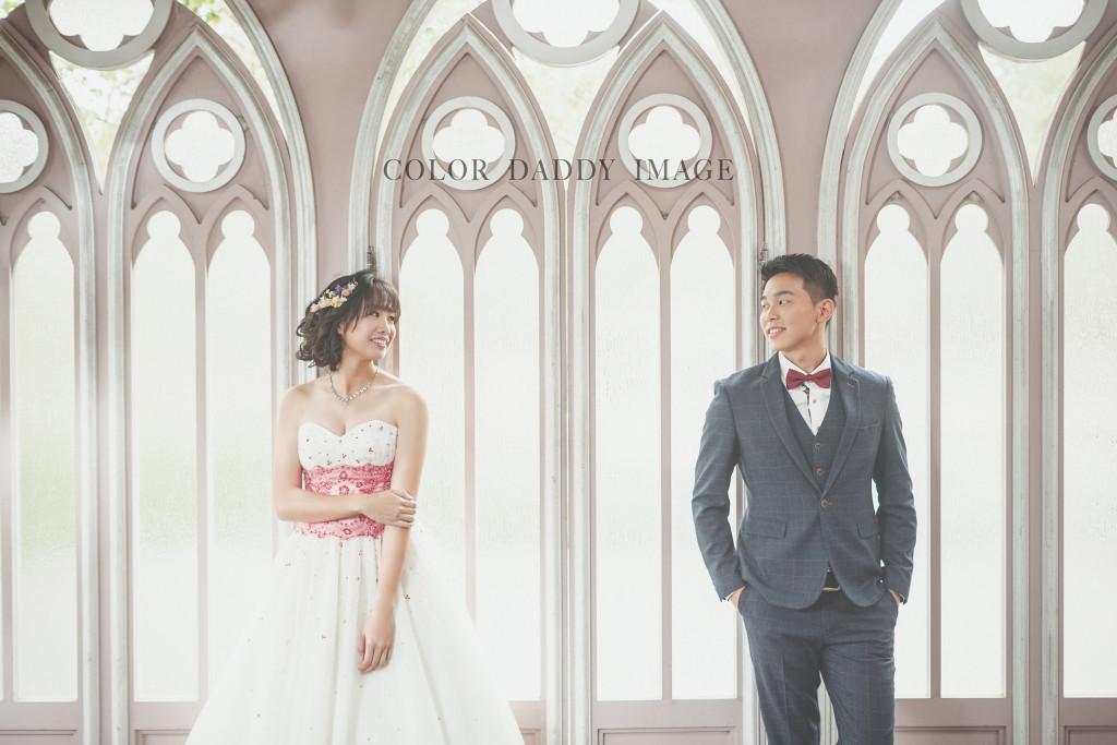 格林奇幻森林婚紗1
