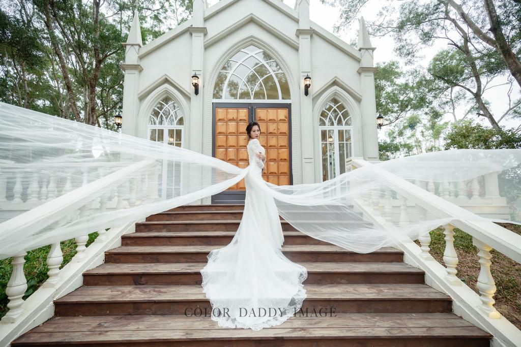 格林奇幻森林婚紗10