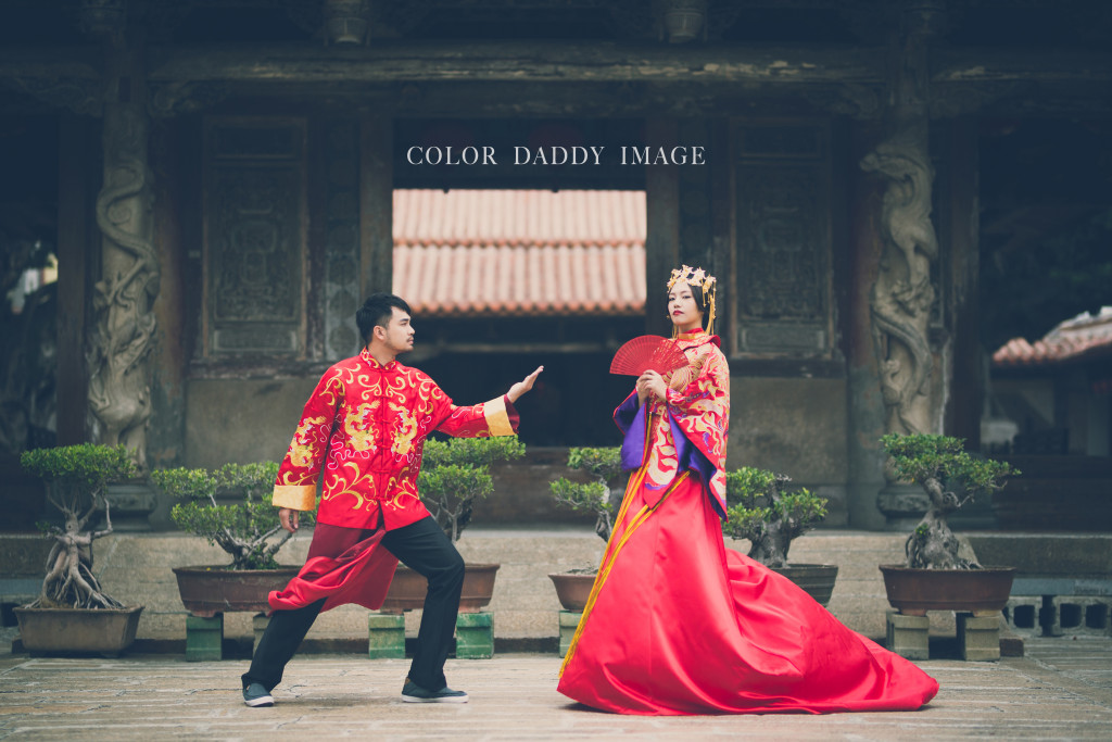 COLOR DADDY婚紗攝影-龍鳳掛